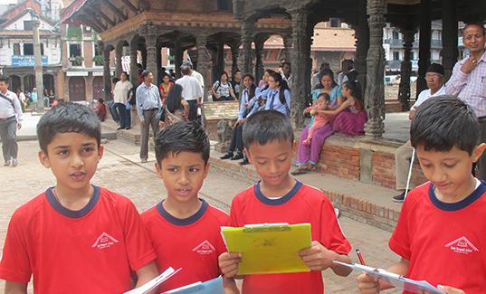 Nepal—Rato Bangala School