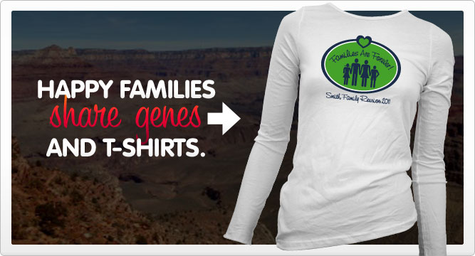 family reunion t-shirts banner