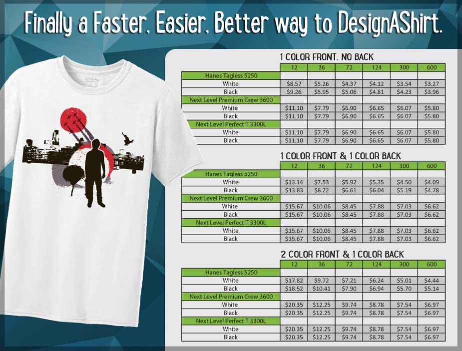 Wholesale T Shirt Printing