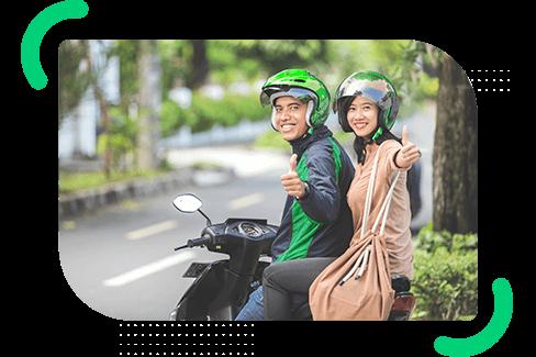 Proteção e benefícios que vão além da sua moto.