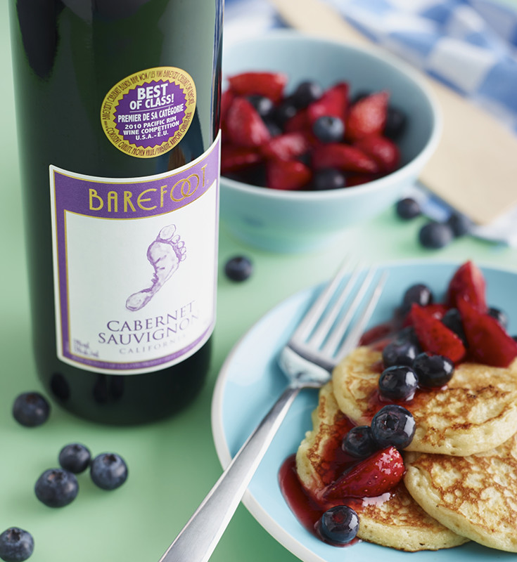 Photo of Foot-tastic Blueberry & Barefoot Pancakes