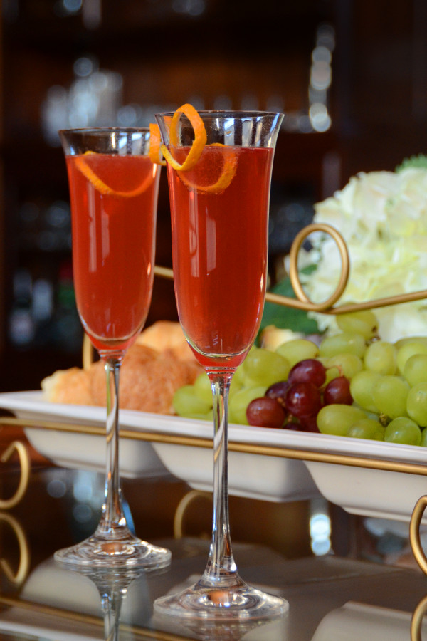 Barefoot Bubbly Pink Moscato Mimosa Cocktail