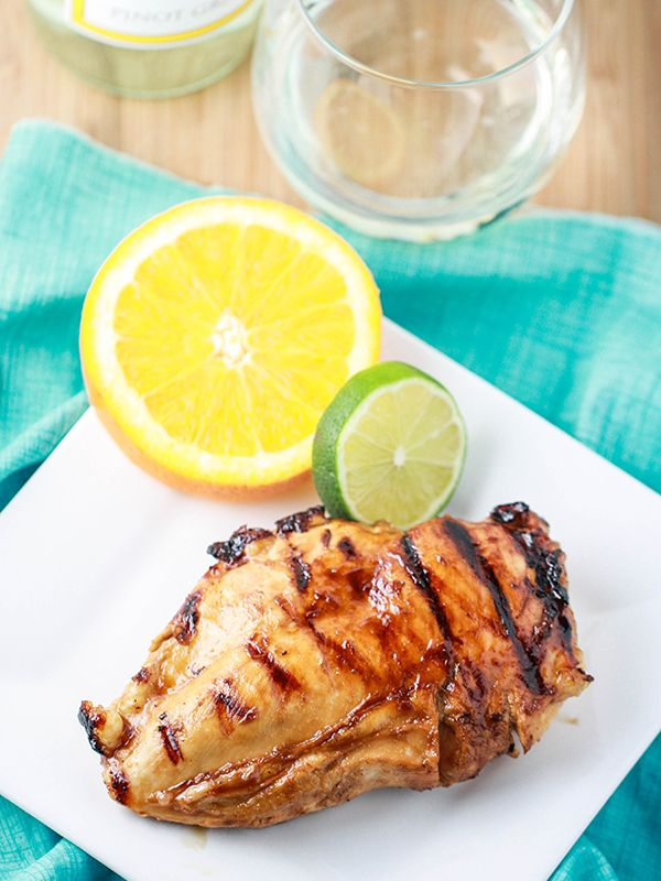 Photo of Barefoot Pinot Grigio Chicken with Honey Citrus Glaze