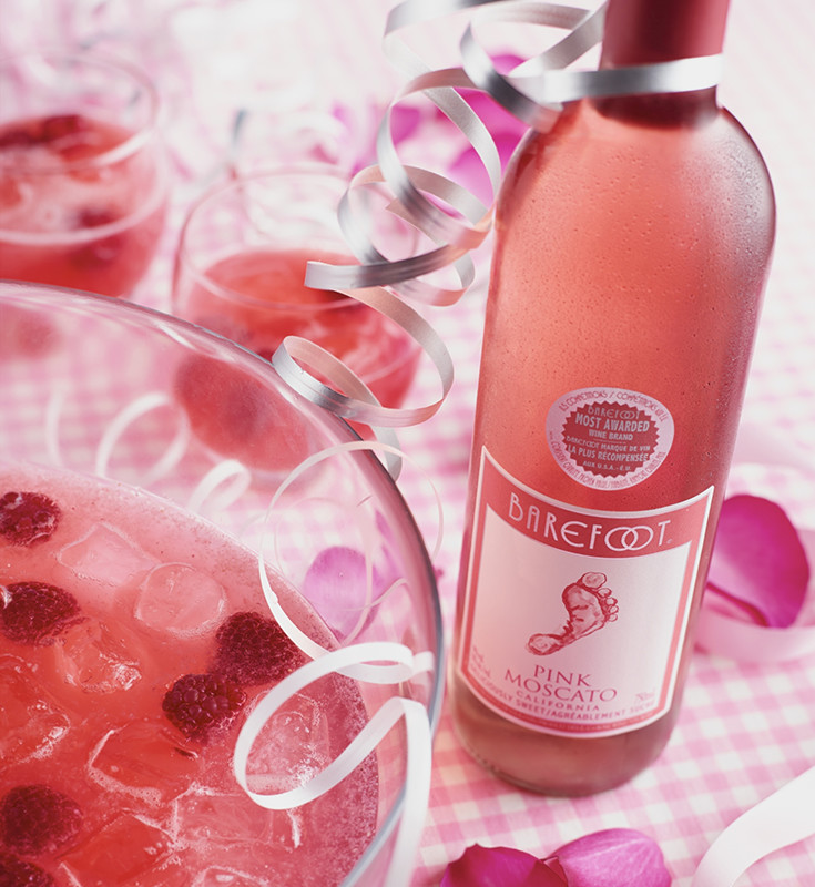 Photo of Pink Moscato Punch