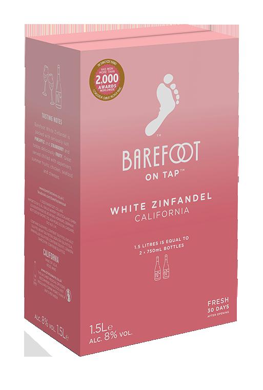 Barefoot On Tap White Zinfandel