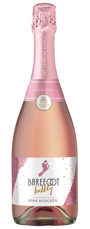 Barefoot Bubbly Pink Moscato