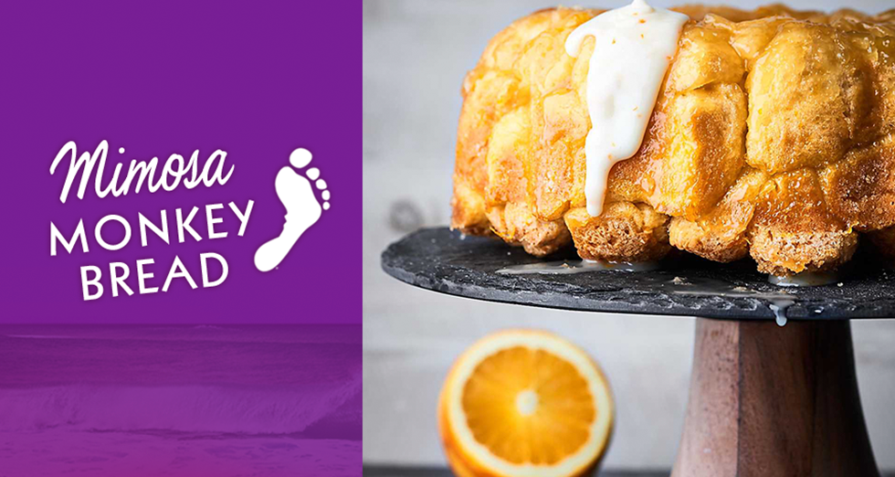 Mimosa Monkey Bread
