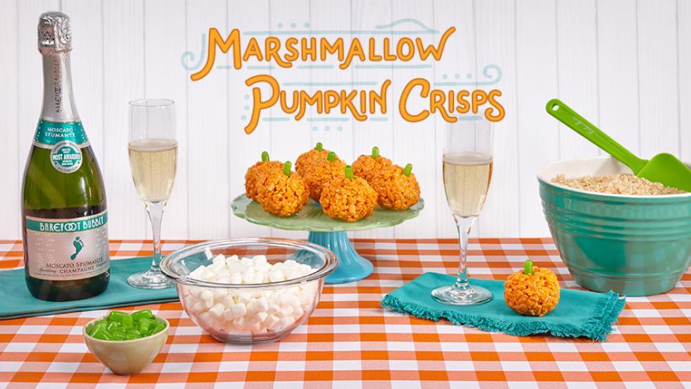 Barefoot Marshmallow Pumpkin Crisps