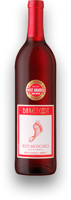Red Moscato Wine