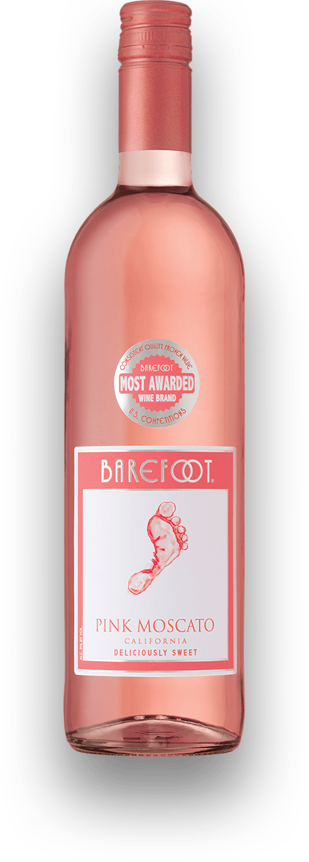 Pink Moscato Wine