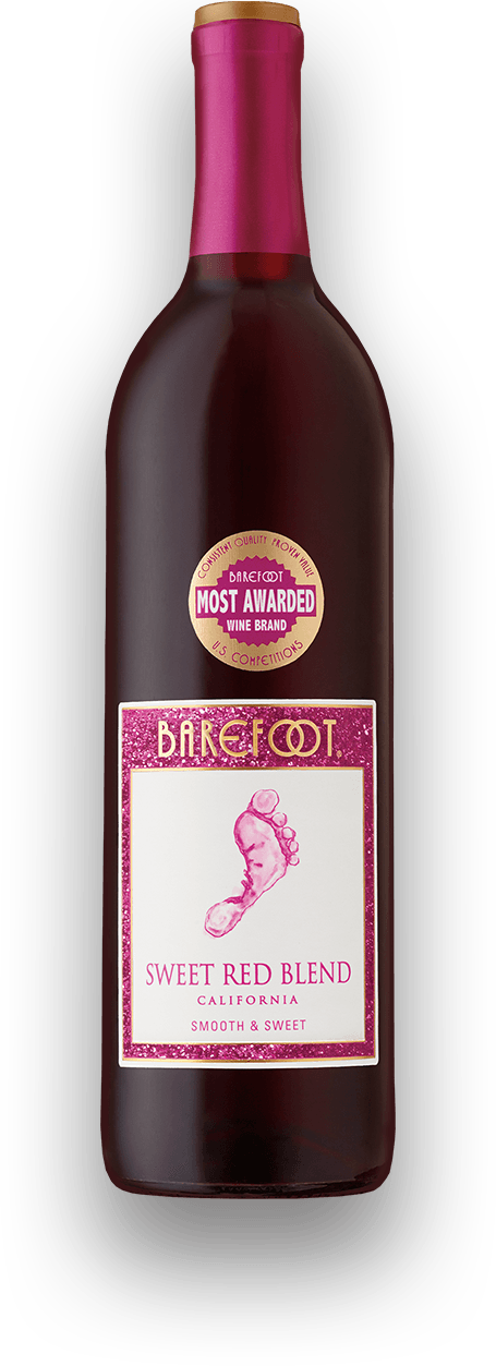 barefoot sweet red wine alcohol content