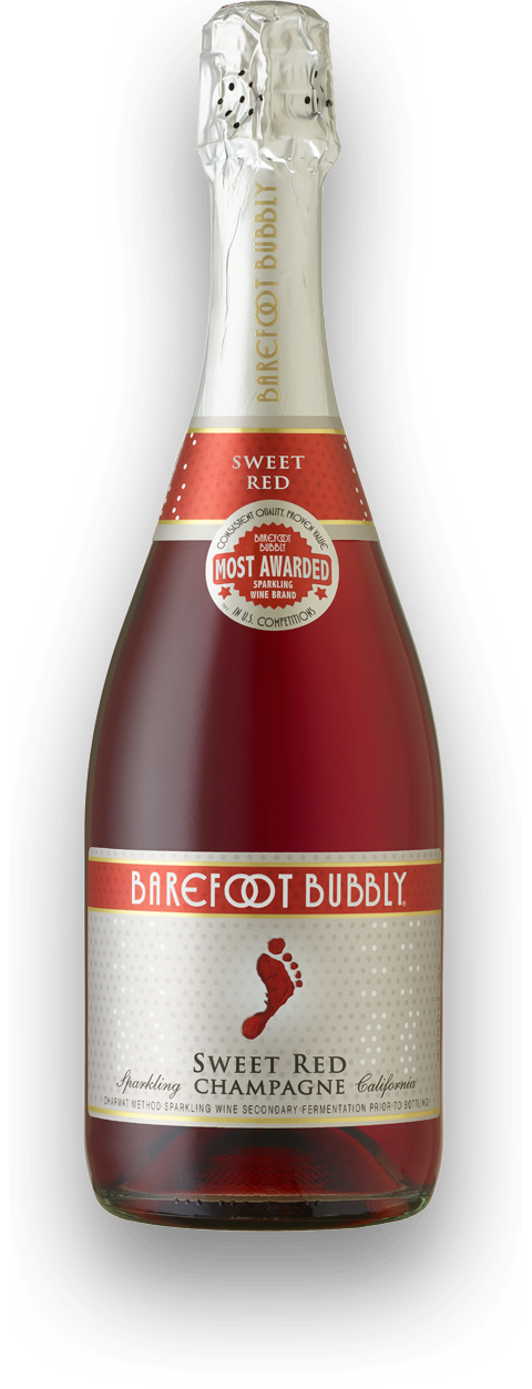 Sweet Red Champagne