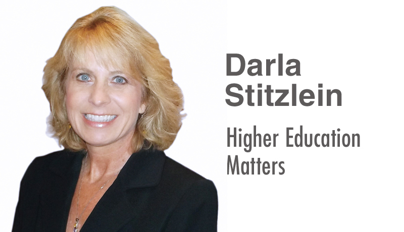 Darla Stitzlein: Higher Education Matter