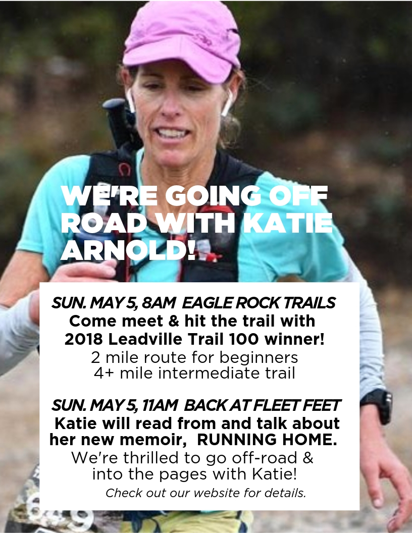 1e2b9abd89 Featuring Katie Arnold, winner of the 2018 Leadville 100 and author of  Running Home, join us at Eagle Rock Reservation for a trail run/walk, ...