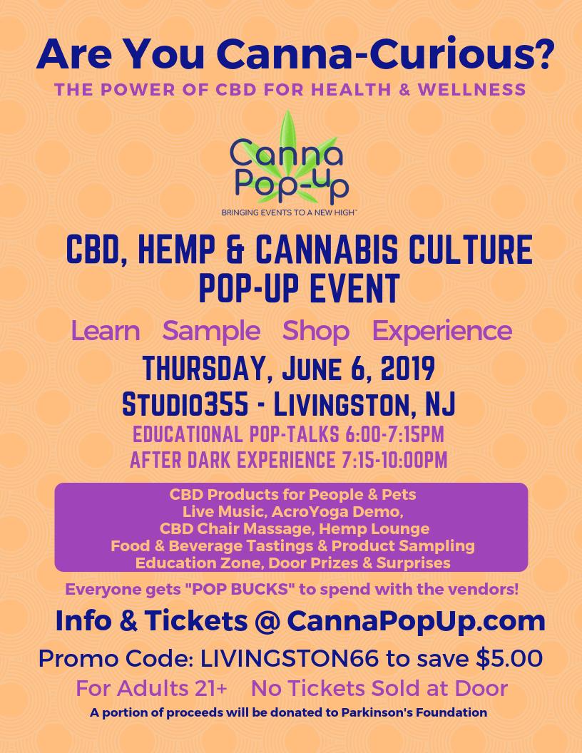 CBD, Hemp and Cannabis Culture Health & Wellness Pop-Up Event | Baristanet