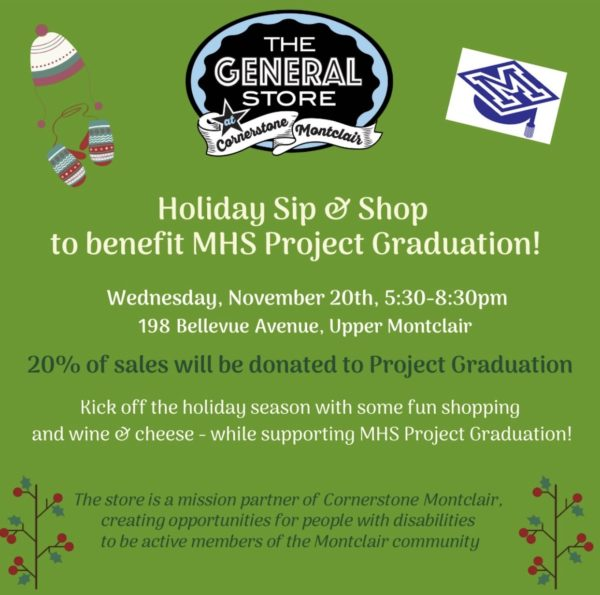 Mhs Graduation 2020.Holiday Sip And Shop An Evening To Benefit Mhs Project Graduation This Wednesday Baristanet