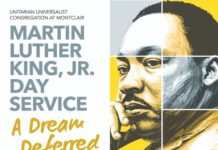 Martin Luther King Jr. Day Service at UUCM