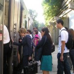 DeCamp Riders Take the Train