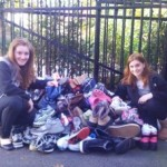 Glen Ridge Teens and Local Businesses Collecting Shoes