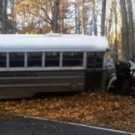 Bus in MHS Accident Impounded