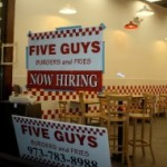 Montclair's Five Guys: Now With Condiments!