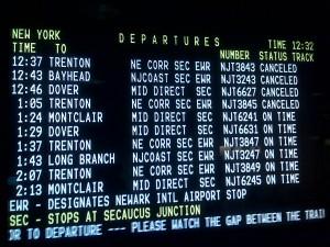Nj Transit Train Schedule Clifton To Hoboken