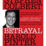 Stephen Colbert in Harold Pinter Drama at Luna Stage, 1/9