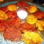 Happy Chanukah: Yam and Beet & Parsnip and Carrot Latkes