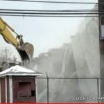 Demolition of Bloomfield's Foley Field