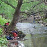 Second River Clean-up at Watsessing Park