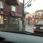 Lines Down in Bloomfield, Flooding in Montclair