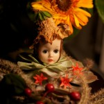 New Life As Garden Queen For Old Doll Head