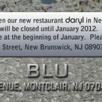Blue Christmas Without Montclair Restaurant Blu