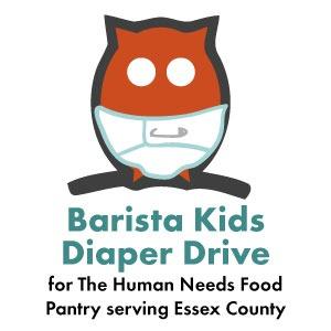 Barista Kids Diaper Drive