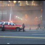 Fire at Port Authority Bus Terminal