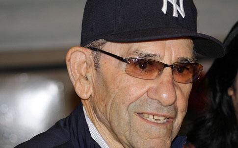 Yogi Berra (credit: Kristi Cataffi)
