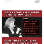Montclair 2012 Blasts Turner on Library, Arts Support