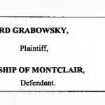 Grabowksy Sues Montclair Over Assisted Living Plan