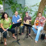 Found Music: Choro Down Neck at Montclair's Trumpets Patio