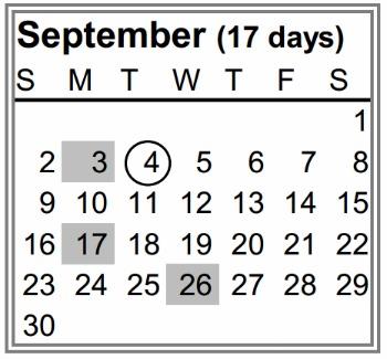 Glen Ridge Schools start on Sept. 4th