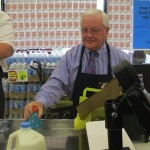 (Updated with video) Bloomfield Mayor Bagging Groceries At Brookdale ShopRite For Partners in Caring Day