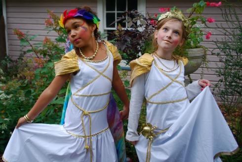 artemis kids costume. ask holly: goddess costume artemis kids