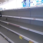Hurricane Sandy Emptying Shelves In And Around Montclair