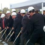 Officials Break Ground for Bloomfield Center Parking Deck