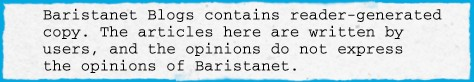 Baristanet Blog disclaimer