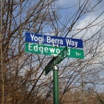 Hello Yogi Berra Way, Montclair!