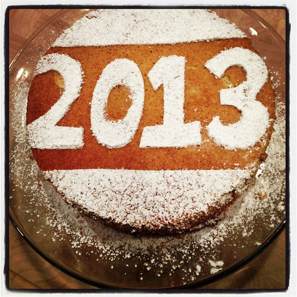 New Year's Day for good luck. Photo (and cake by): Georgette Gilmore ...