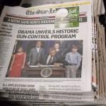 As Star Ledger Newsroom Shrinks, Are Print Journalism Junkies Worried?