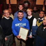 Montclair HS Football Team Honored By Essex County Freeholders