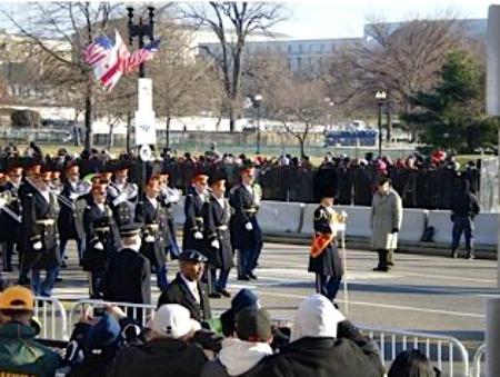 parade inauguration